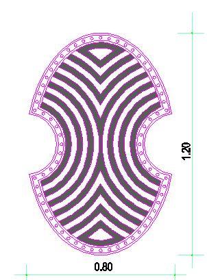 Ασπίδα Γεωμετρικών Χρόνων. Design by Nikolakopoulos Dimitris, Architect