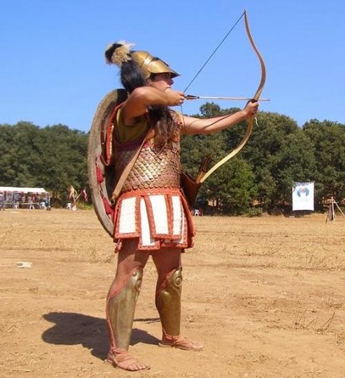 koryvantes hoplite archer nereid