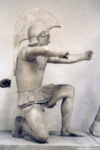 Figure 14. Native Greek archers possibly account for the shielded and/or armored archers illustrated in art. Image may be copyrighted.