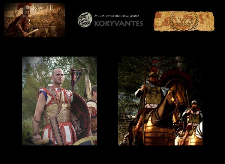 "Heavy Linothorax armor for the TW Unit ""Persian Unit - Seleucides""  - Photo Courtesy of KORYVANTES Association"