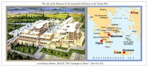 Role of Knossos in the Trojan War according to Homer